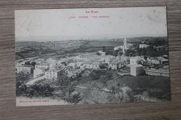 VAOUR (81) - VUE GENERALE - Vaour