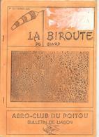 Aviation La Biroute De Biard N°13 Automne 1988 AERO-CLUB DU POITOU Bulletin De Liaison - Poitou-Charentes