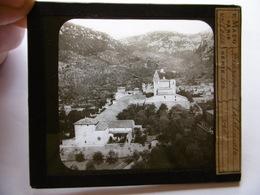 ESPAGNE MALLORCA VALLDEMOSSA SUPERBE PHOTO PLAQUE DE VERRE  10 X 8.5 - Glass Slides