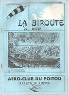 Aviation La Biroute De Biard N°14 Hiver 1988/1989 AERO-CLUB DU POITOU Bulletin De Liaison - Poitou-Charentes