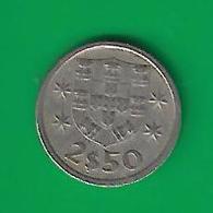 2,5  ESCUDOS  1974  (PRIX FIXE)  (CS 19) - Portugal