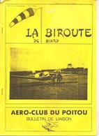 Aviation La Biroute De Biard N°15 Printemps 1989 AERO-CLUB DU POITOU Bulletin De Liaison - Poitou-Charentes