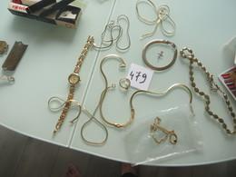 Lot De Bijous Doré ,nombreuses Photos - Jewels & Clocks
