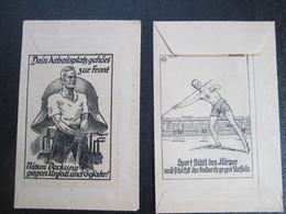 TITRES DE PAIEMENT .BELLE ILLUSTRATION PERIODE GUERRE - Vieux Papiers