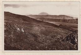 8AK1029 LE VOLCAN SUR LES PENTES DES PITONS DE LA FOURNAISEET BORV  2 SCANS - La Réunion