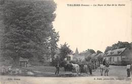 80-TALMAS- LA MRE- ET RUE DE LA MAIRIE - France