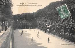 80-ROYE- LE JEU DE PAUME, LES EPREUVES DU CHAMPIONNAT DE PICARDIE - Roye