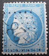 DF/932 - CERES N°60A - GC Refaits -28- BLEUS : AILLEVILLERS (Haute Saône) INDICE 5 - 1871-1875 Cérès