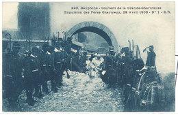 Cpa Couvent De La Grande Chartreuse - Expulsion Des Pères Chartreux ...   ( S. 2825 ) - France