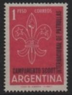 Argentina - 1961 Scouts-Scoutisme-Pfadfinder-Esploratori (Jamboree - Baden-Powell) ** - Argentina