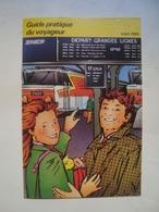 SNCF. GUIDE PRATIQUE DU VOYAGEUR - FRANCE, 1989. 32 PAGES. - Chemin De Fer