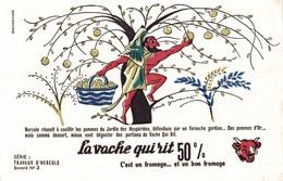 BUVARD  LA VACHE QUI RIT TRAVAUX D HERCULE No 5 - Dairy