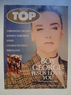 TOP. TOWER RECORDS. BOY GEORGE. JESUS LOVES YOU. THE BEGINNING IS NIGH (MARCH 1991) - UK, 1991. - Entertainment