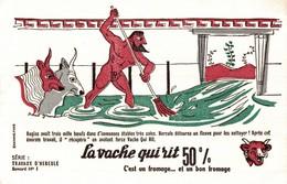 BUVARD  LA VACHE QUI RIT TRAVAUX D HERCULE No 1 - Dairy