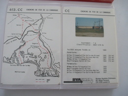 CHEMIN De FER De La CAMARGUE : BVA Séries 613 Et 806 Et Un Lot De CPA, CPM Et PHOTOS Dans Un Album - Voir Les Scans - Trains
