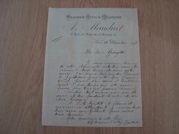 FACTURE A MAUDUIT TAILLEUR CIVIL & MILITAIRE PARIS 1917 - France