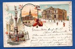 Bern  -- Gruss Aus Bern  --  1899 - BE Berne