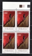 FRANCE  1994 - BLOC DE 4 TP Y.T. N° 2908 - NEUFS** - France