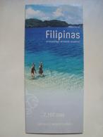 FILIPINAS ARCHIPIÉLAGO: EL MUNDO ACUÁTICO! 7.107 ISLAS. NATURALEZA. AVENTURA. CULTURA - PHILIPPINES, 2000. - Tourism Brochures