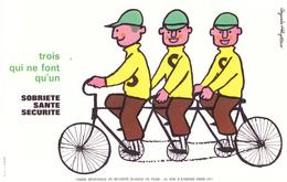 BUVARD Triplette , Vélo Tandem à 3 Places - Sécurité Routière @ Sobriété Santé Sécurité @ Cyclisme - Bikes & Mopeds