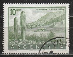 Argentina 1955 - Quebrada De Humahuaca (World Heritage 2003) - Cactus   Montagne   Paesaggi   Parchi Nazionali   Piante - Argentina