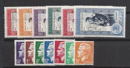 Monaco - YT N° 338 à 350 - Neuf Avec Charnière - Année Complète 1950 - Monaco
