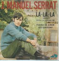 "45 Tours EP - J. MANUEL SERRAT   -  AZ 1198 -   ""  LA-LA-LA "" +  2  ( EUROVISION 1968 ) - Vinyl Records"