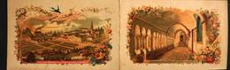 PETIT CALENDRIER DORE De 1896 - Chocolat D'Aiguebelle Fabriqué Par Les TRAPPISTES Du Monastère De N-D. D'Aiguebelle -TBE - Calendriers