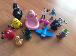 Lot De 12 Figurines Barbapa, Barbamama Etc... - Figurines