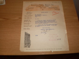 Acropolis Travel Service Inc New York   Royal Yugoslav Consulate General New York 1932 - United States