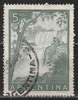 Argentina 1955 - Iguazú Falls - Alberi   Cascate   Fiumi   Paesaggi   Parchi Nazionali   UNESCO - Argentina