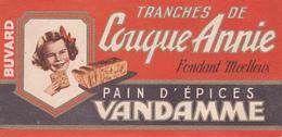 BUVARD PAIN D'EPICES VANDAMME - Tranches De Couque Annie - Fondant Moelleux - Gingerbread