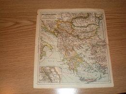 Balkanhalbinsel - Geographical Maps