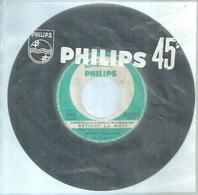 "45 Tours SP - JOHNNY HALLYDAY   - PHILIPS 372946  "" RETIENS LA NUIT  "" + ""SAM'DI SOIR "" ( JUKE-BOX ) - Vinyl Records"