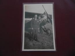 CARTE PHOTO   -  LE BOURGET  -  AVIATEUR  PIERRE MARCEL LEMOIGNE - Aviateurs