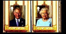 GREAT BRITAIN - 2016  QUEEN'S BIRTHDAY  1  S/A  SET  EX BOOKLET  MINT NH - 1952-.... (Elisabetta II)
