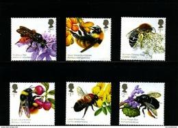 GREAT BRITAIN - 2015  BEES  SET  MINT NH - 1952-.... (Elisabetta II)