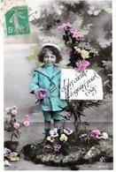 Cpa Thèmes > Enfants > Portraits - Je Les Cueille Toujours Pour Vous - - Portraits