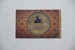 Carte La Brasserie Du Général, Thonon-les-Bains (Haute-Savoie) - Visiting Cards