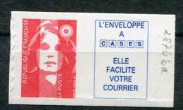 7119   FRANCE  2874ba**  Sans Valeur  +  Vignette  Caractères Maigres  1994   TTB - France