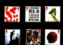 GREAT BRITAIN - 2015  THE GREAT WAR 2nd ISSUE SET  MINT NH - 1952-.... (Elisabetta II)