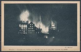 MEAUX -  Incendie Des Moulins Du Marché (17 Juin 1920) - Meaux