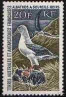 "TERRES AUSTRALES Y&T 24 "" L ' ALBATROS 1968 20F "" NEUF Xx LUXE - Stamps"