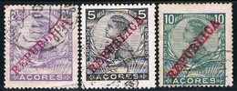 Açores, 1911, # 121/3, Used - Azores