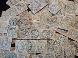 Type Blanc Nr 111 // 5 Ct Vert Lot De 100 En Paire Et Bande De 3 - 1900-29 Blanc
