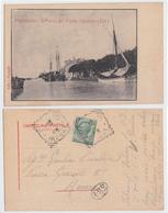 Fiumicino - Il Porto Del Ponte Girante (est) - Italia