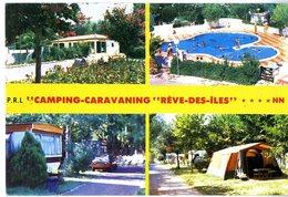 66  ARGELES SUR MER  CAMPING CARAVANING  REVE DES ILES  -  CPM 1970 / 80 - Argeles Sur Mer