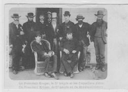 Le Président Kruger, Le Dr Leyds Et Les Conseillers D'état - Personajes