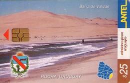 TARJETA TELEFONICA DE URUGUAY. 266a (BARRA DE VALIZAS) (233) - Uruguay