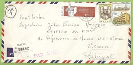 Macau - Registered Letter 1979 - Cover - Philately - Macao - China - 1949 - ... República Popular